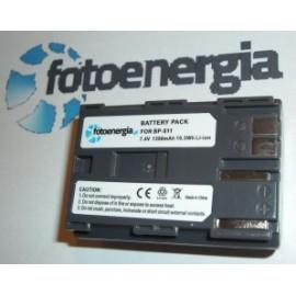 CANON BP-511 BP511 10D 20D D30 D60 300D 7,4V 1390mAh / 10,3Wh (AK59) FE