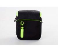 Kameros dėklas, maišas - poliesteris, žalia / juoda -  120mm x 110mm x 65mm (800113142)