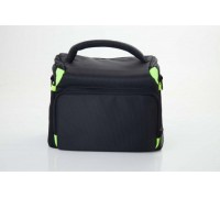 Kameros dėklas, maišas - plastmasinis, žalias / juodas - 230 x 155 mm x 160 mm (800113154)