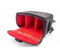 Kameros dėklas, krepšys - raudonas / juodas - 265 mm x 230 mm x 136 mm (800114736)