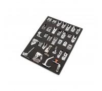 32 dalių siuvimo mašinų atsarginių dalių komplektas (800115575)