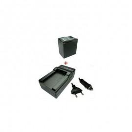 Baterija 2500mAh/7,4V + Kroviklis miniDV CANON BP-808 / 809 / 819 / 827 (TR)