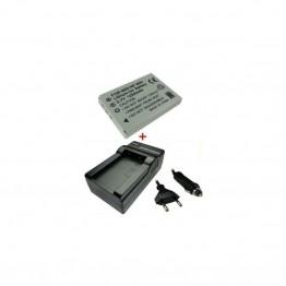 Kroviklis + Baterija OLYMPUS LI-80B LI80B LI80-B 80-B 3,7V 1200mAh (TR)