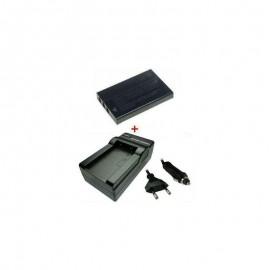 Kroviklis + Baterija OLYMPUS LI-20B LI20B SLB-1037 SLB-1137 HP R07 (TR)
