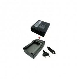 Kroviklis + Baterija PANASONIC CGA-S002 BM7 FZ1 FZ4 7,2V 680mAh / 4,9Wh (AK98)TR