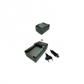 Baterija 1000mAh/7,4V + Kroviklis miniDV CANON BP-808 / 809 / 819 / 827 (TR)