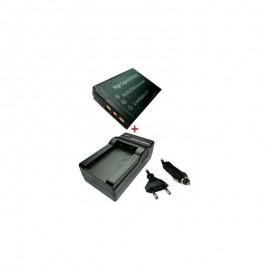 Baterija 1000mAh + Kroviklis KYOCERA / KODAK KLIC-7003 (TR)