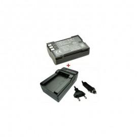Baterija 2000mAh/7,4V + Kroviklis OLYMPUS BLM BLM1 BLM5 (FETR)