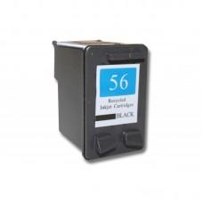 Rašalo kasetės  HP tipo numeriui 56 /C6656A  juoda(600106722)
