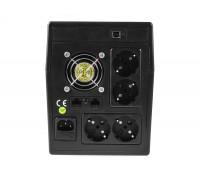 Green Cell, 1500VA (900W) nepertraukiamo maitinimo šaltinis (ups) Linijinis interaktyvus AVR  (5902701419646)