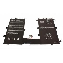 """Li-Polymer Akku 8250mAh (3.75V) Notebook Laptop HP Pro Tablet 610 G1 10.1"""", Z3775  733057-421, 733057-421, 740479-001, HSTNH-L01B (HSTNH-L01B)AMAZVHBW"""