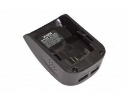 """Baterijos adapteris su 2x USB jungtimi, tinkamas """"Dewalt XR"""" serijai (800107836)"""