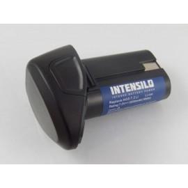 INTENSILO 7,2V 2500MAH LI-ION  LUX-TOOLS AGS 7.2 LI (VHBW800113263)