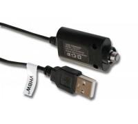 USB kabelio įkroviklis  e-cigaretei / Shisha Typ 2, Sraigtinė jungtis 3mm.(800106209)