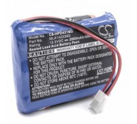 Agilent, HP 43100  12V, Mėlyna, 2500mAh (800110215)